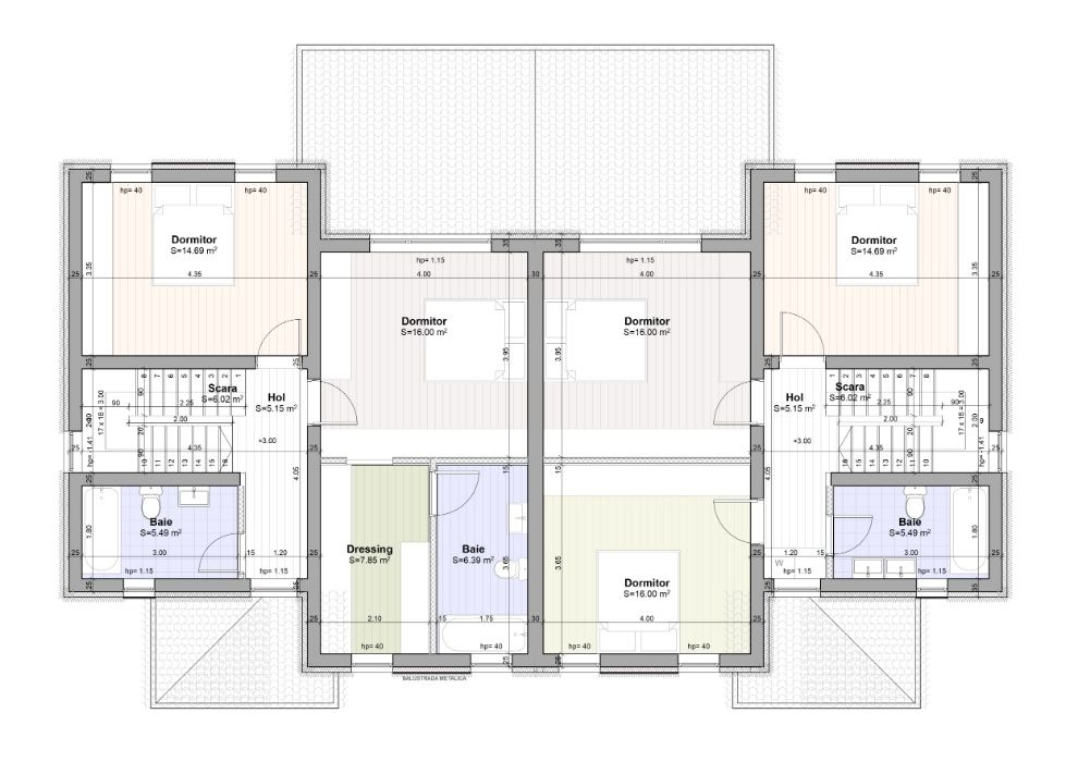 PROPRIETAR * 1/2 Duplex - Casa BRAYTIM - Timisoara * P+E 125 mp *