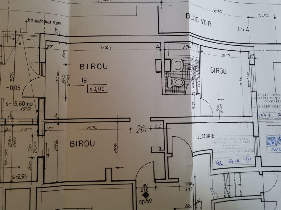 Apartament 2 , 3 camere zona Anda pretabil spatiu comercial, birou.