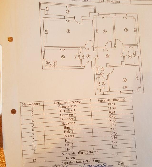 Schimb/ Apartament 4 camere