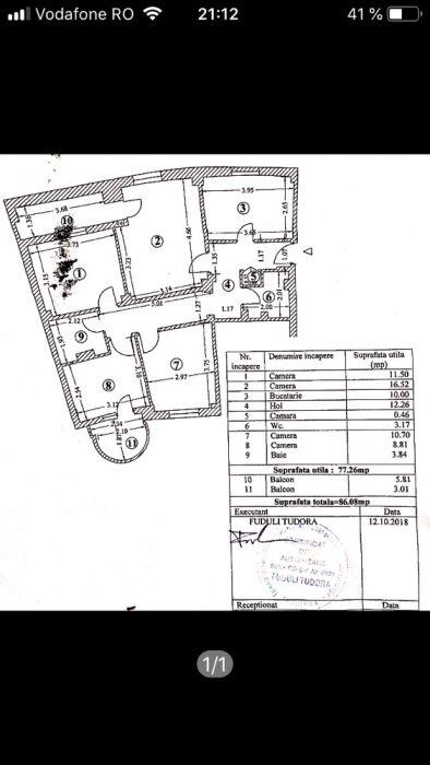 Oferta Apartament 87 mp zona Capitol