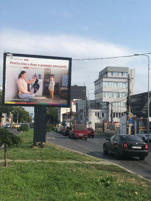 2 Saptămâni Gratuit. Intersecția Bd.Mamaia cu Str. Ion Rațiu.