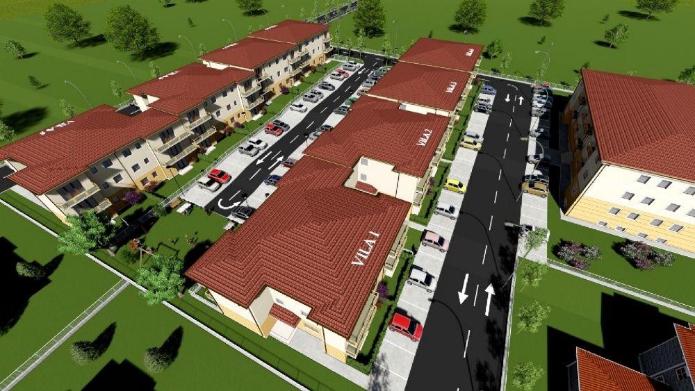 NOU! ESQ Village 2, complex de apartamente, model HELSINKI, etaj 1!