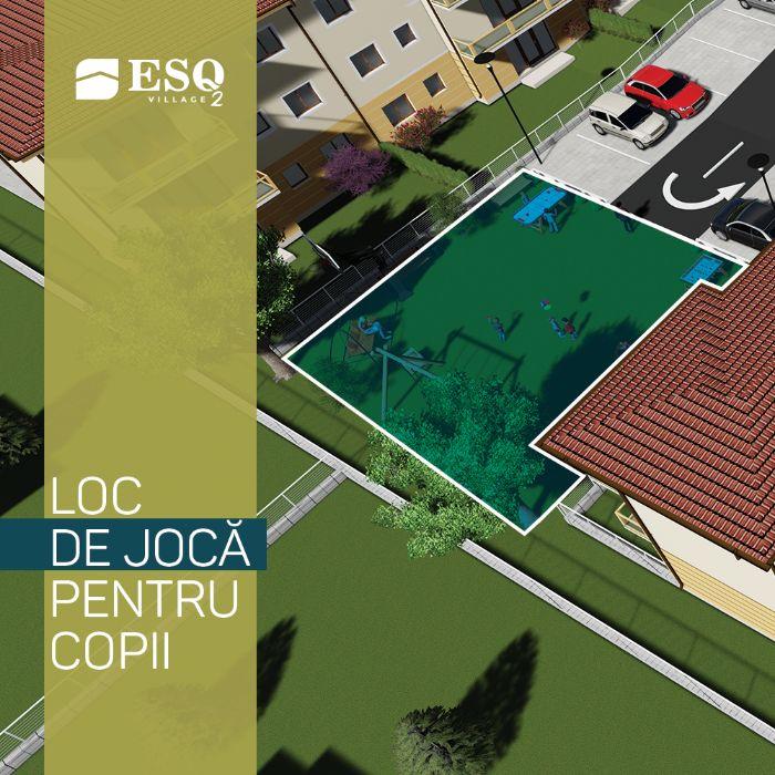 NOU! ESQ Village 2, complex de apartamente, model HELSINKI cu curte