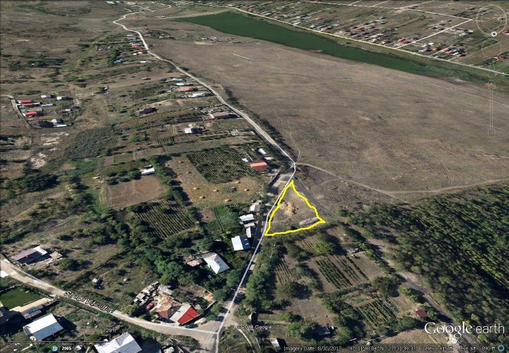 1444 mp Str. Dealul Zorilor - 700 ml de Aleea Sadoveanu Copou