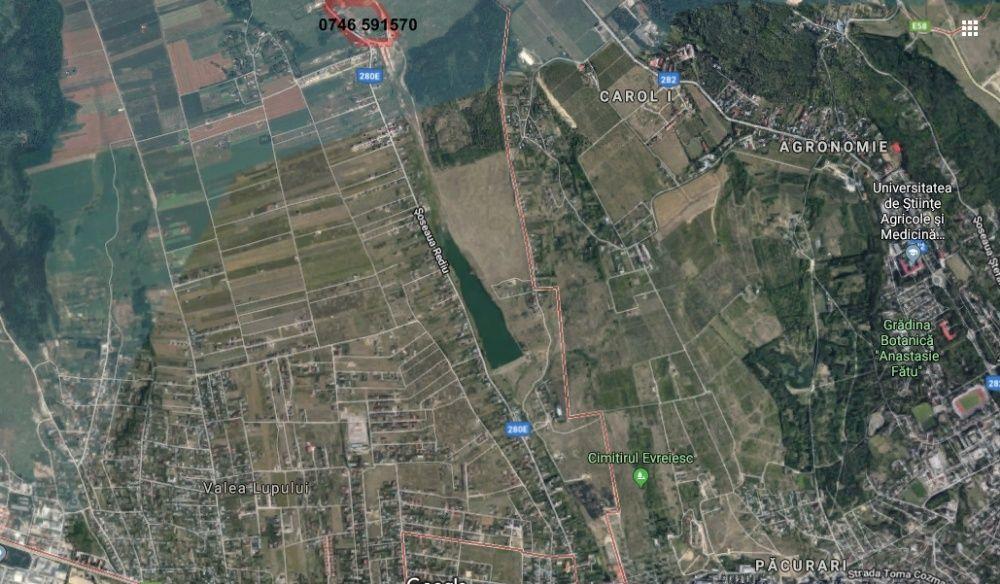 Vand teren in Rediu, Iasi, la doar 3 km de capat Pacurari