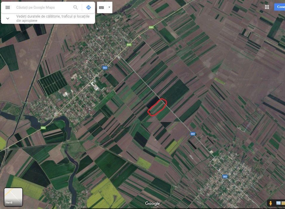 Teren 35 km Bucuresti - Movilita, judetul Ialomita