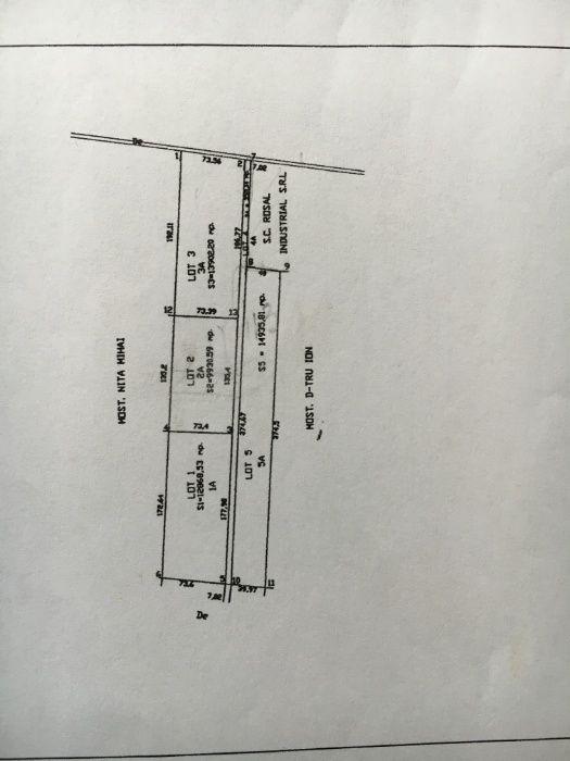 INTRAVILAN oxigenului A2 -13902mp industrial dubla deschidere 73m