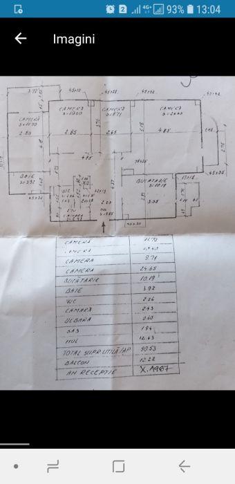 Apartament 4 camere Titulescu 34 - NEGOCIABIL
