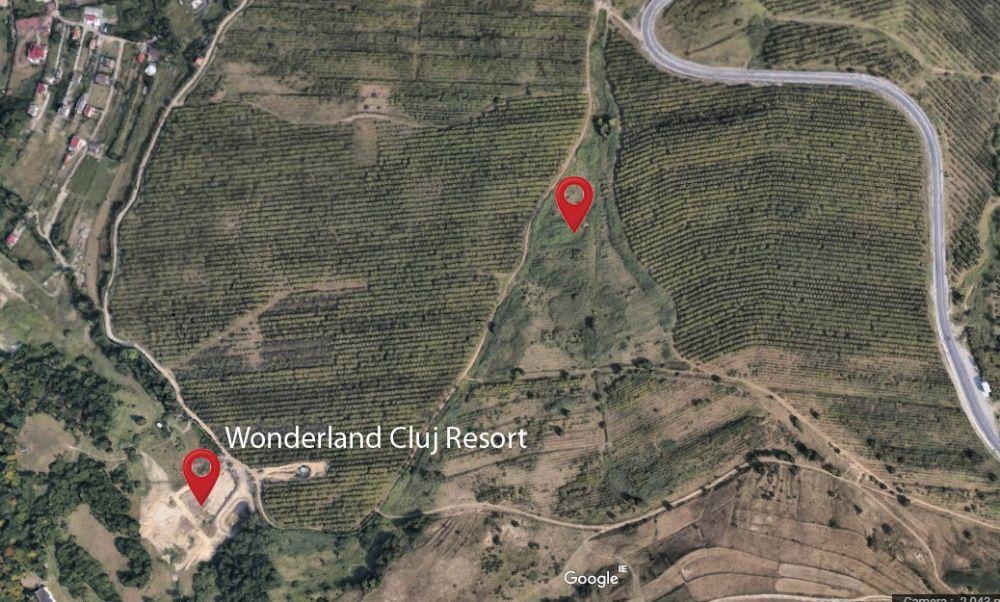 Teren 2000 m2, intravilan, langă Wonderland, preț €36 pe m2